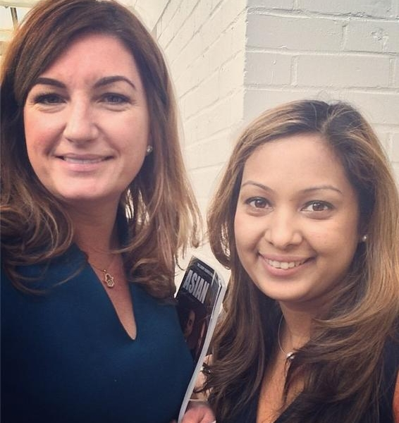 Meeting the fabulous Karren Brady CBE…