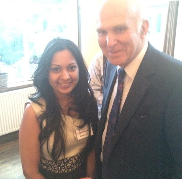Vince Cable on how Government is actively helping SME's..