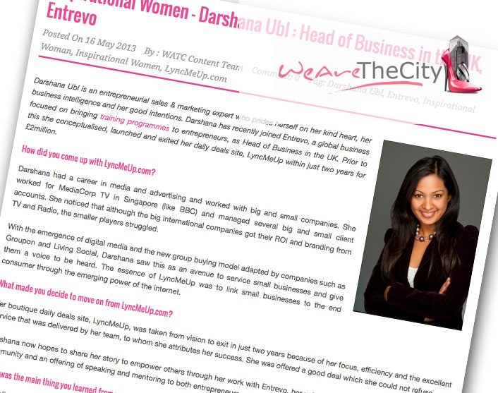 Women in the City - Inspirational Women Article